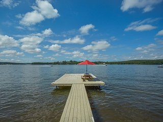 Private dock, fire pit and exceptional outdoor space in quiet community! - Swanton vacation rentals