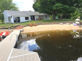 Mann Lake Cottage, 1500 sqft home on private lake! - Sheridan vacation rentals