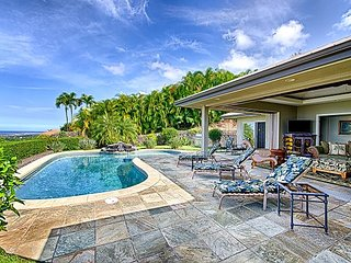 Beautiful single level 3 bedroom, 3 bath home with spectacular ocean views - Kailua-Kona vacation rentals