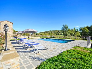 Nice Villa with Shared Outdoor Pool and Television - Volterrano vacation rentals