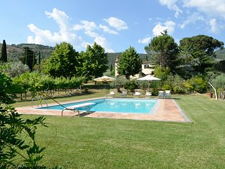 Spacious Villa with Shared Outdoor Pool and Fireplace - San Pietro a Cegliolo vacation rentals