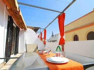 Gorgeous attic with private terrace - Seville vacation rentals