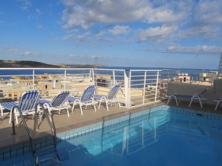 Central 2 bedroom with communal pool - Bugibba vacation rentals