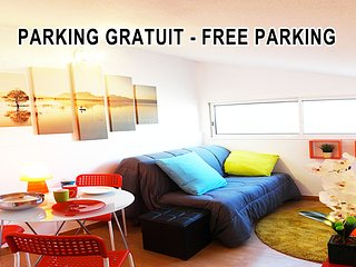 Central PARKING GRATUIT - Montpellier vacation rentals