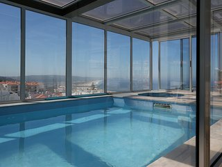 Luxury apartment with private pool and jacuzzi - Nazare vacation rentals