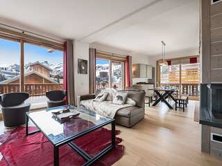 Bright Apartment with Internet Access and Balcony - Meribel vacation rentals