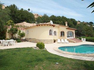 Alldo - hill side with private pool in Moraira - Moraira vacation rentals