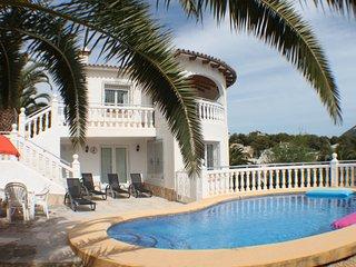 Amapolas - fantastic sea view villa in Moraira - Moraira vacation rentals
