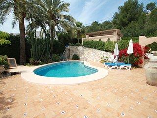 Chrisuli - well furnished villa with panoramic views in Moraira - Moraira vacation rentals