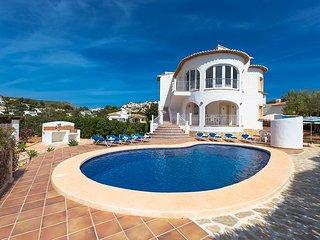 4 bedroom Villa in Moraira, Costa Blanca, Spain : ref 2036242 - Benitachell vacation rentals