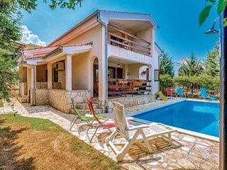 3 bedroom Villa in Krk-Njivice, Island Of Krk, Croatia : ref 2277374 - Njivice vacation rentals