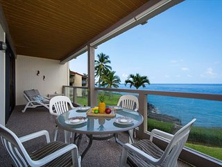 KKSR3202 DIRECT OCEANFRONT, Spacious, 2nd Flr - Kailua-Kona vacation rentals