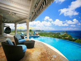 Magical 4 Bedroom Villa in Mont du Cap - Cap Estate vacation rentals