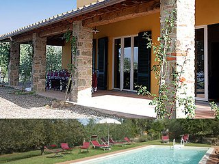 Villa with swimming pool in Tuscany - Lucignano vacation rentals