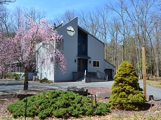 Creek-front, Modern House with Volleyball court - Bushkill vacation rentals