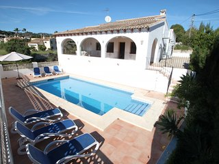 Cometa - holiday home with private swimming pool in Benissa - Benissa vacation rentals