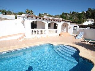 Colina - holiday home with private swimming pool in Moraira - La Llobella vacation rentals
