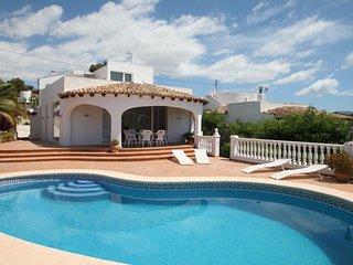 El Descanso - sea view villa with private pool in Benissa - Benissa vacation rentals
