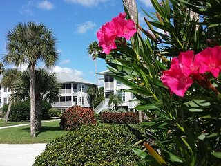 Eye catching updated two bedroom villa poolside with Gulf view - Cape Haze vacation rentals
