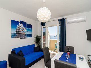 Sweet Blue Escape 1BR APT With Sea View - Sobra vacation rentals