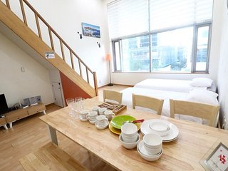 10sec wonderful duplex studio in hongdae location - Seoul vacation rentals