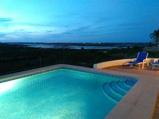 Seaview, AC, playground, WiFi, FREE HEATED POOL! - Pego vacation rentals