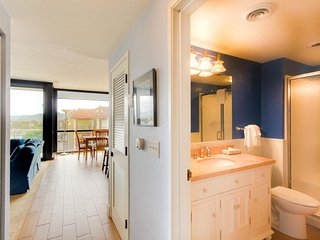 Spacious condo steps from the beach w/ shared pool & sauna, dogs welcome - Seaside vacation rentals