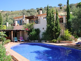 Casa La Olla, perfect sea view 30 min. from Malaga - Moclinejo vacation rentals