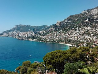 Stylish Apartment with Magnificent Monaco Views - Roquebrune-Cap-Martin vacation rentals