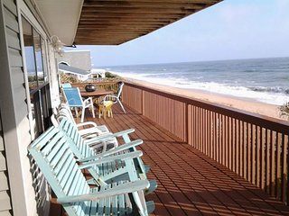 Spacious dog-friendly home with balcony and grill right on the beach! - Saint Augustine vacation rentals