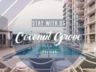 MIAMI - Coconut Grove 2BR Furnished Suites near Downtown - Miami vacation rentals
