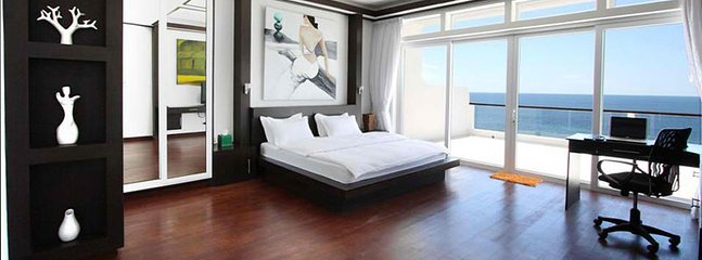 Master bedroom with a spectacular view - Boracay Penthouse - Boracay - rentals