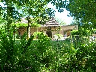 Maison piscine jaccuzzi au bord des bois - Saint Cere vacation rentals