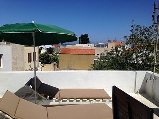 Medieval city Maisonette roof terrace-sea view close to the Synagogue and beach - Rhodes Town vacation rentals