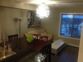Fully furnished 2bed top floor new condo in legacy - Calgary vacation rentals