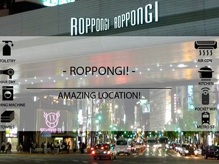 Roppongi Hills- Great Location!! Free Wifi pocket - Minato vacation rentals