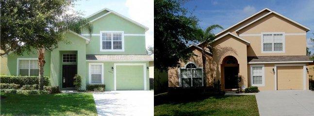 Side-by-Side Twin Villas - Side-By-Side,two 5bd/4ba,WestFacingPool,6TVs,BBQ - Four Corners - rentals