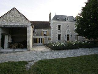 Karakteristiek landhuis 'Les Touches' Crouzilles - Crouzilles vacation rentals