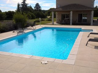 Beautiful modern villa with pool and lovely views - Aubeterre-sur-Dronne vacation rentals