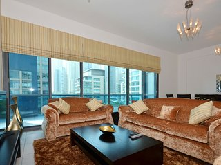 Spacious 2br with terrace on Marina - Jumeirah Lake Towers vacation rentals