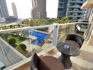 Lovely Condo with Internet Access and A/C - Dubai Marina vacation rentals