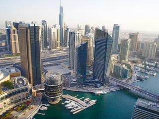 Bright 2 bedroom Dubai Marina Apartment with Internet Access - Dubai Marina vacation rentals