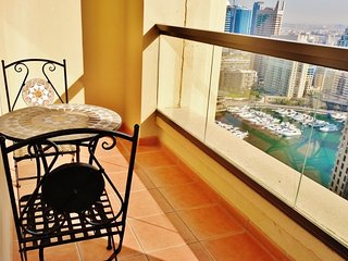 Bright 2 bedroom Dubai Marina Apartment with Internet Access - Dubai Marina vacation rentals