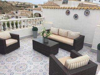 South facing 3 bed villa with air con - La Marina vacation rentals