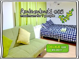 #05 SUPER BIG FOR 4! DELUXE TWIN ROOM - Taito vacation rentals
