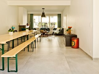 Bright and big house in the centre with garden - Ghent vacation rentals
