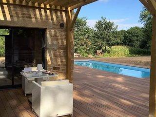 Ancien pressoir proche carnac golf piscine chauff - Ploemel vacation rentals
