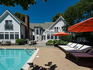 YASED - STUNNING EDGARTOWN VILLAGE LUXURY COMPOUND, HEATED POOL BORDERED BY - Chappaquiddick vacation rentals