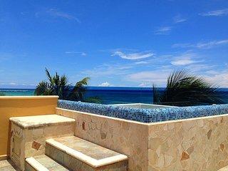 301 REEF, EL FARO, VISTA AL MAR CON JACUZZI - Playa del Carmen vacation rentals