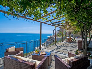 PR125-Beautiful Villa with the most amazing Sea Views! - Praiano vacation rentals